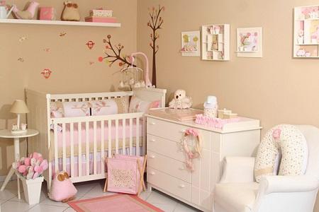 Детская комната для новорожденного