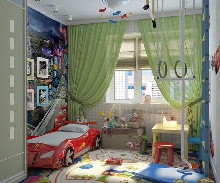 Текстиль в детскую комнату