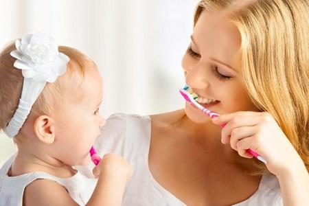 как чистить зубы ребенку