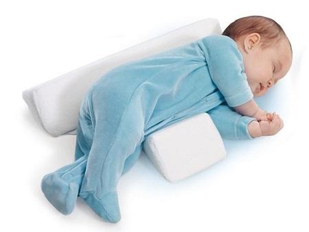 подушка с боковой поддержкой для новорожденного