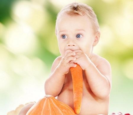 Морковь для детей