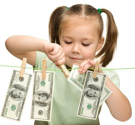 отношение ребенка к деньгам