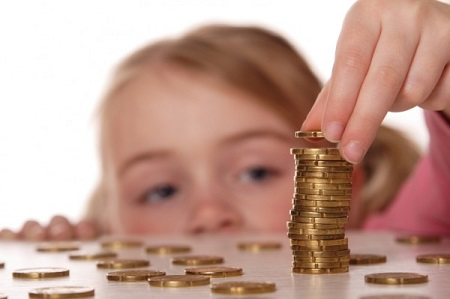 ребенку о деньгах