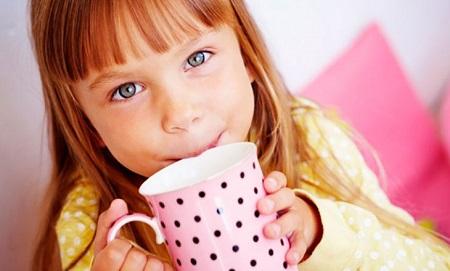 Чай ребенку