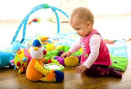 Режим ребенка в 9 месяцев