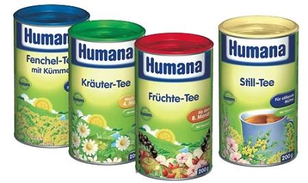 Чай Humana для лактации