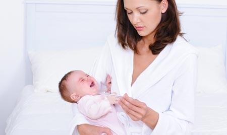 температура у новорожденного