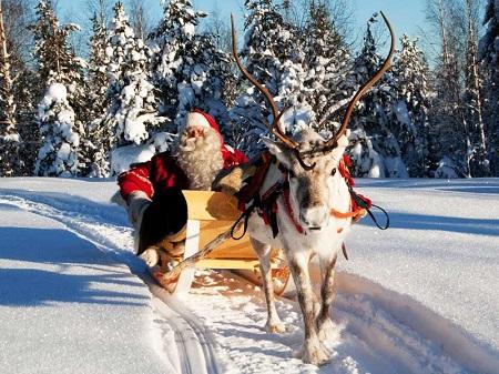 новый год с ребенком в финляндии