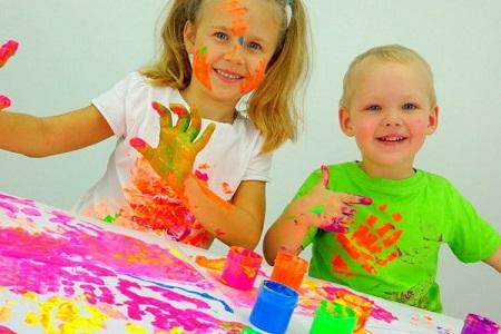 пальчиковые краски своими руками для детей